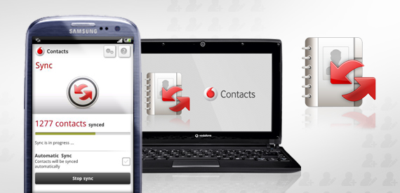 Vodafone Contacts