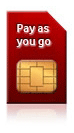 Pay as you go Sim only