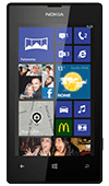 Nokia Lumia 520 in black on Vodafone