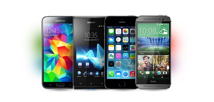 Selection of HD Voice voice enabled smartphones
