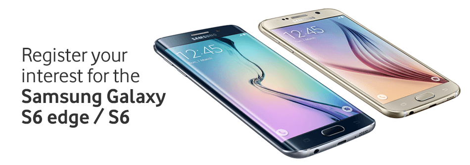 Samsung Galaxy S6 Edge and S6