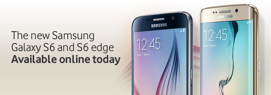 Samsung Galaxy S6 available online today
