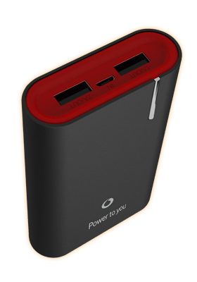 Vodafone 7800mAH Power Bank Black