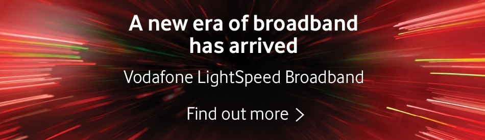 Vodafone Lightspeed Broadband – find out more