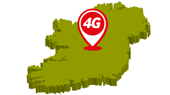 4G network from Vodafone