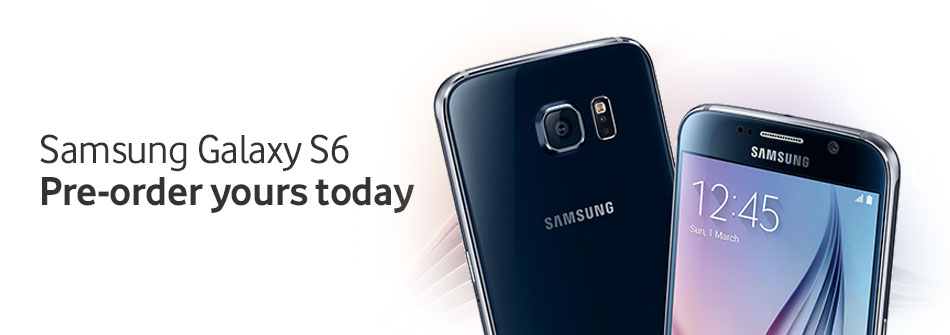 Pre-order your Samsung Galaxy S6 today