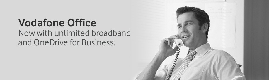 Get 6 months free broadband when you switch to Vodafone Office Control for business